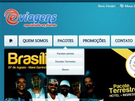 Loja Virtual eViagens - Bleez Agência Digital - Magento Commerce
