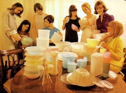 Exemplos de Social Commerce: Tupperware