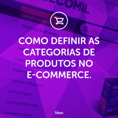 Categorias de produtos no e-commerce