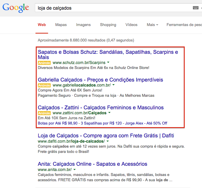 google adwords bleez ecommerce