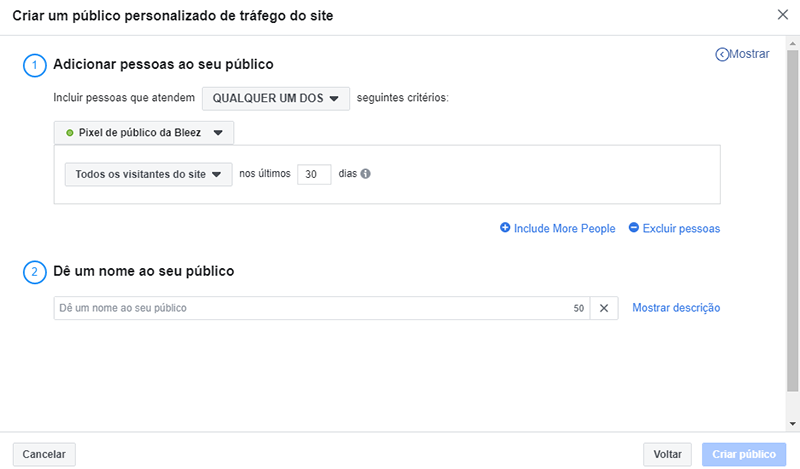 anuncio facebook remarketing